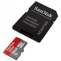 کارت حافظه Sandisk 32GB Ultra microSDHC UHS-I Class 10